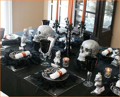 Halloween 28: Halloween-table-decoration