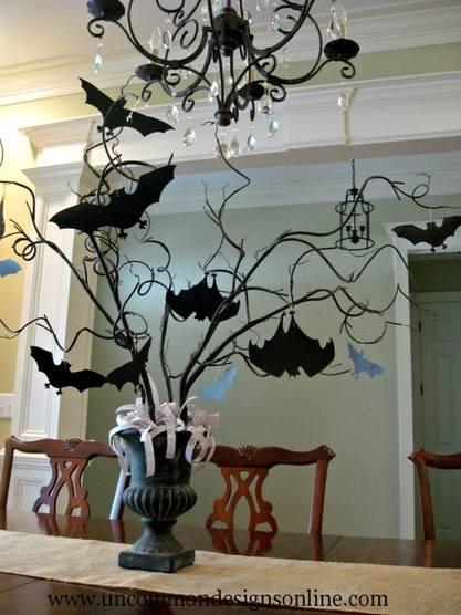Halloween 49: Paper-Bat-tree-2-768x1024