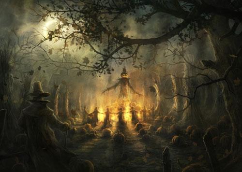 Halloween 55: tree
