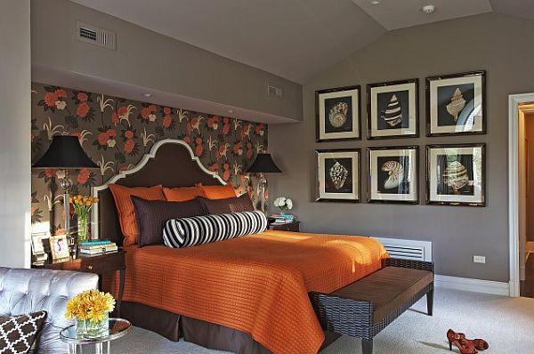 Halloween: Room 6 orange-and-brown