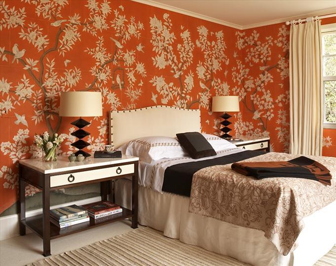 Halloween: Room 7 orange bedroom