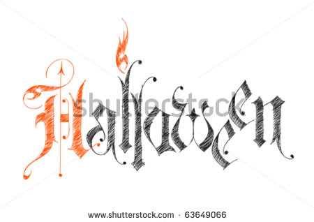 H: 13stock-vector-halloween-vector-sketch-gothic-letters-63649066