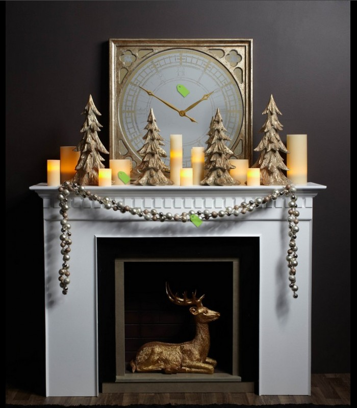 Happy Christmas: Amazing-christmas-mantel-decor-ideas