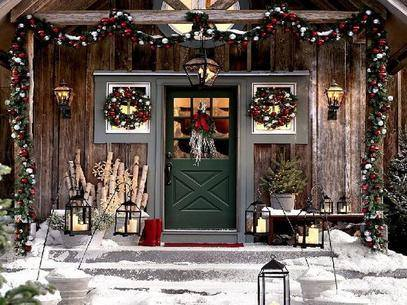 Happy Chrismas: Classy-Christmas-Porch-Decorating-Ideas