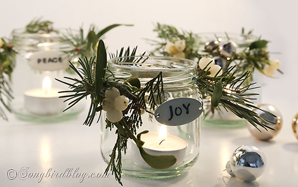 Happy Christmas: decorated-Christmas-jars-Songbird-3
