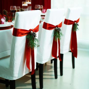 Happy Christmas 1: christmas_bows_dining_chair
