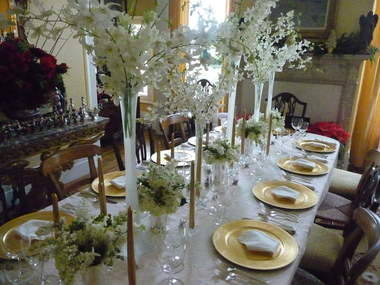 Happy Christmas 2: decoration-ideas-awesome-long-christmas-table-with-white
