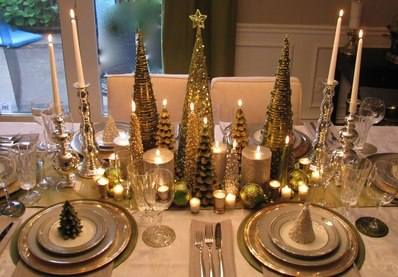 Happy Christmas 2: dining-room-designs-gorgeously-elegant-glowing-christmas