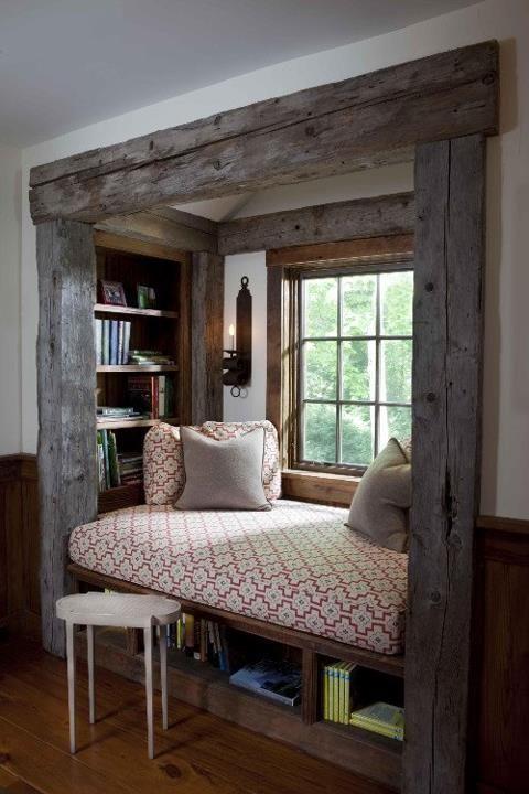 Chalet Interior 14: Bench by Window 8ccd86af6d8219208d3850b16529066b