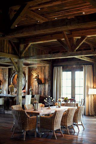 Chalet Interior 14: Dining Room 710eb0ed7eafe672468616edba6e839f