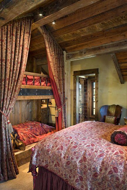 Chalet Interior 14: Multiple Bedroom 59937d377ea5f92a0e8dc8581e08ebca