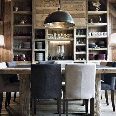 Chalet Interior 14: Dining Area c4b30223e931dea2adaf035256fff57b
