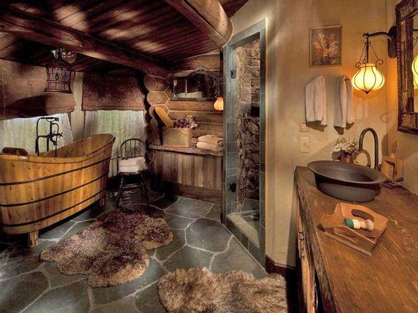 Chalet Interior 14: Bathroom fa8066aba8e0ce7cdbf204f3ab63657e