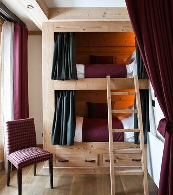Chalet Interior 14: Bunk Beds 9bf02ec78f04bde5c000782d5f69f253