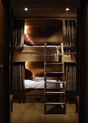 Chalet Interior 14: Bunk Beds 6784561207f4f69d5be0633053cad833
