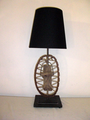 Chalet Product 14: Snowshoe Lamp Snowshoe_sm
