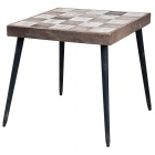 Chalet Product 14: Wood Chess Board design Side Table DATE1866CHSS_1_Thumb