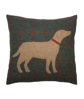 Chalet Product 14: Tweed Dog Cushion GLCUY_016C S