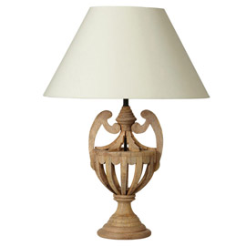 Chalet Product 14: Oka Lamp Natural JJB075WHT-0_01