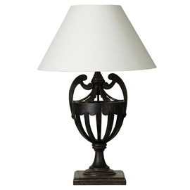 Chalet Product 14: Oka Lamp Black JJB074BLK-0_01
