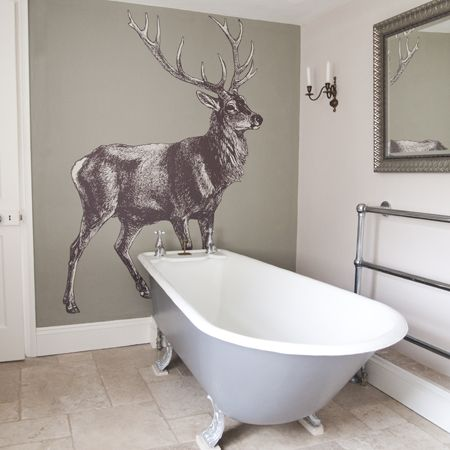 Chalet Product 14: Big Stag Wall Sticker 2303ecfd3b132a56d4e24aaccdec997d