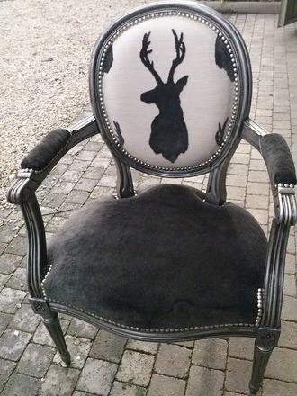 Chalet Product 14: Stag Back b/w fauteul meubles-et-rangements-fauteuils-ca