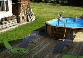 Chalet Product 14: Ferme du Ciel Our_pool