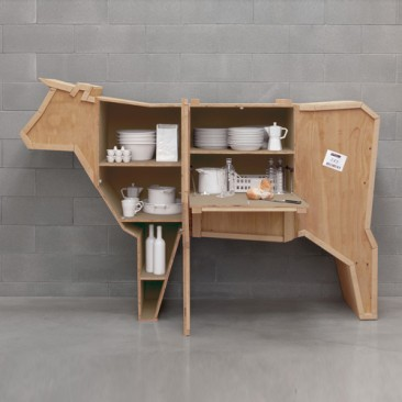 Chalet Product 14: seletti-cow-sending-animals-wooden-furniture_im_366