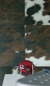 Chalet Product 14: Wallpaper NATIVES_COW_HIDE_4e899bd7eef3a