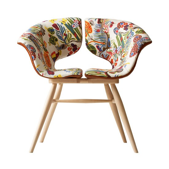 Easter 14: Butterfly retro chair 01-Tortie-Hoare