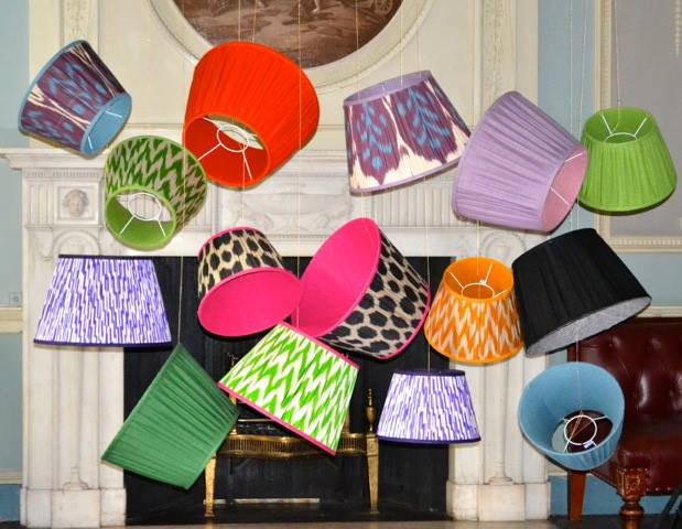 Easter 14: Multi Colour Lamp Shades 71492_617767028278197_1507971112_n