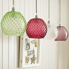 Easter 14: Multi Colour Pedant Lights diamondtip-lr-ls