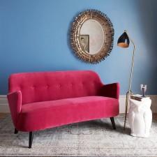 Easter 14/ Pink-Red retro sofa dellasofa