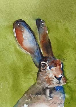 Easter 14: Bunny painting 1 il_570xN.216609946