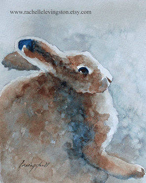 Easter 14: Bunny painting 2 il_570xN.281510759