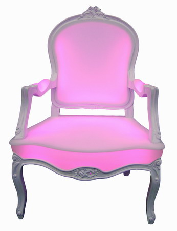 Easter 14: LED pink Armchair max3