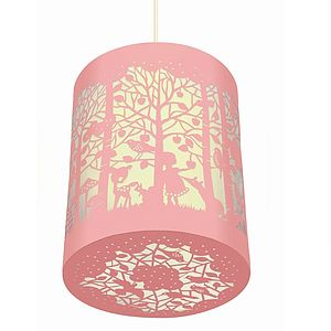 Easter 14 1: Pink Kids Shade preview_in-the-forest-pink-paper-cut-lantern
