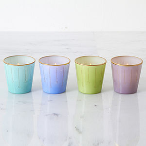 Easter 14 1: Multi Tea Lights preview_parisien-style-pastel-glass-tealight-