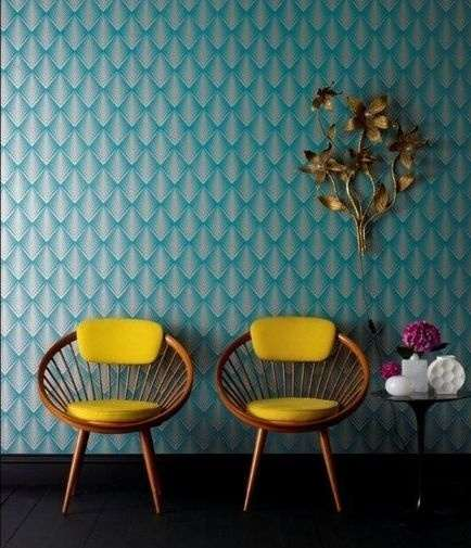 Spring 14: Yellow chairs against turquoise wall 0bdc5088274943f61bb9ad8a737