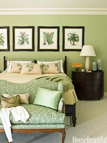 Spring 14 Room: Green Bedroom 759832fb8eefbd357bb1d5c517634949