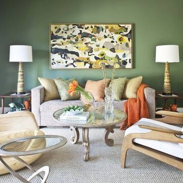 Spring 14 Room: Green Sitting Room 1464042_10152108326173402_2130466216_n