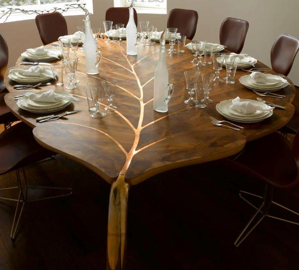 Spring 14: Leaf Dining Table amazing-leaf-table
