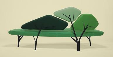 Spring 14: Tree Sofa borghese- structure noire 570