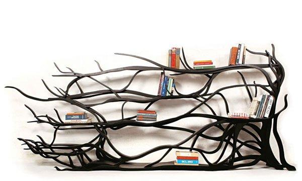 Spring 14: branch bookshelf