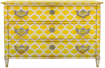 Spring 14: Moissonnier Yellow Chest 672 MOSAIQUE