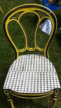 Spring 14: Black/Yellow painted chair IMG_0453
