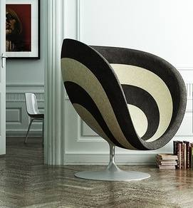 Spring 14 1: B/W stripe Rose Chair 563a5f213f3dc053977d74fa135a950b