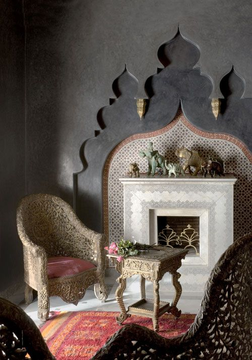 Summer 14 Room: Moorish Fire Place Surround a0461367cffb8939eb4c3663ed01232