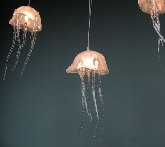 Summer 14: Jellyfish ceiling lamps 00-01