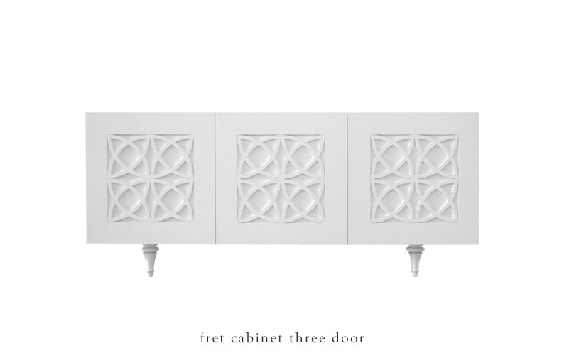 Summer 14: Moorish white side board fret_three_door